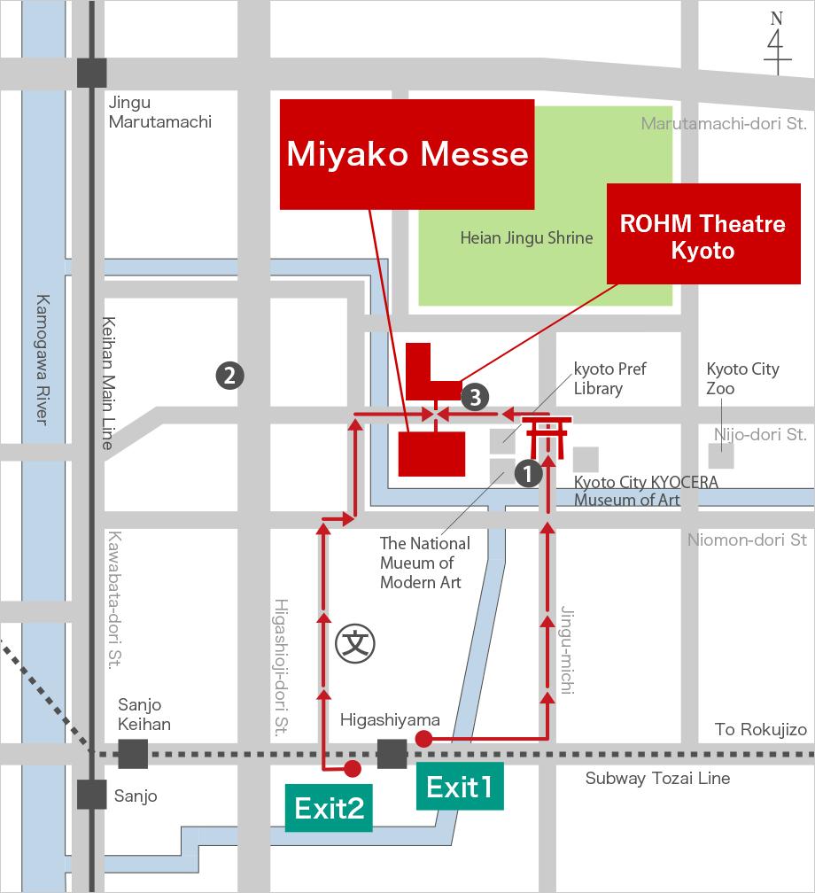 Kyoto International Exhibition Hall (Miyako Messe)